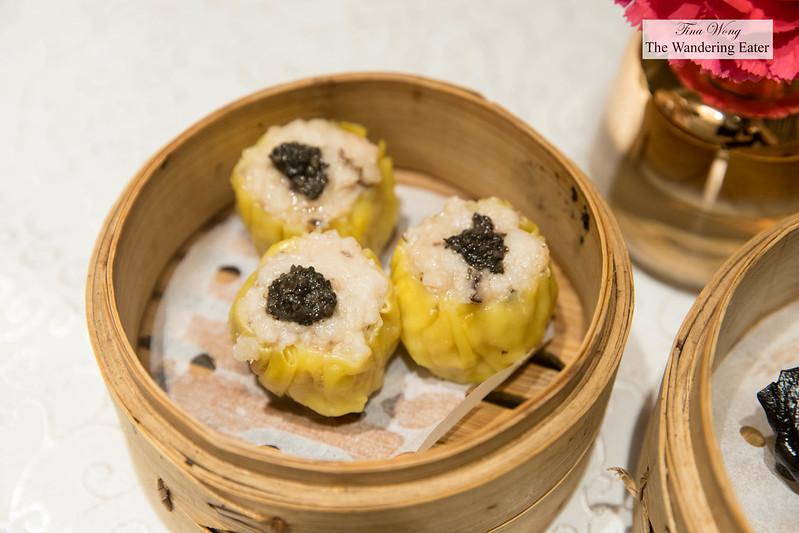 Black truffle shu mai