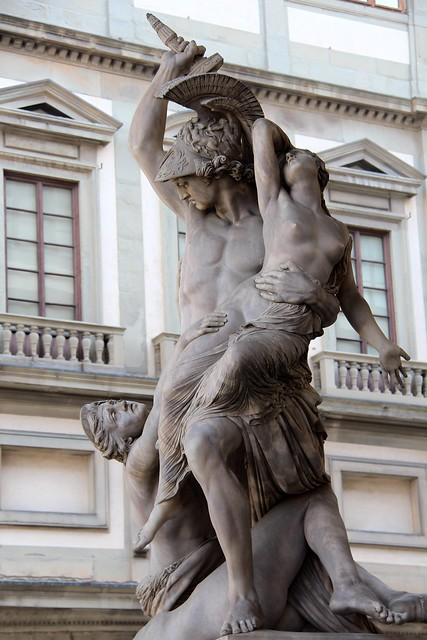 The Rape of Polyxena (1868)