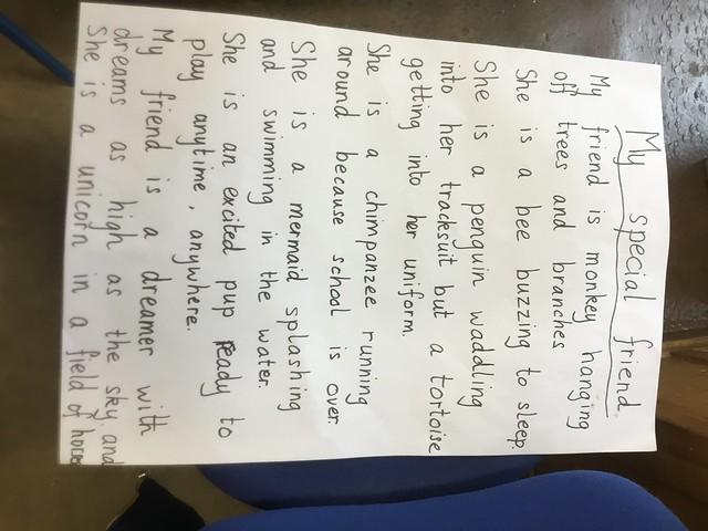 Class Friendship Poem