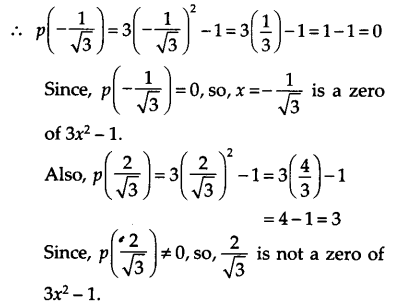 NCERT Solutions for Class 9 Maths Chapter 2 Polynomials Ex 2.2 A3b