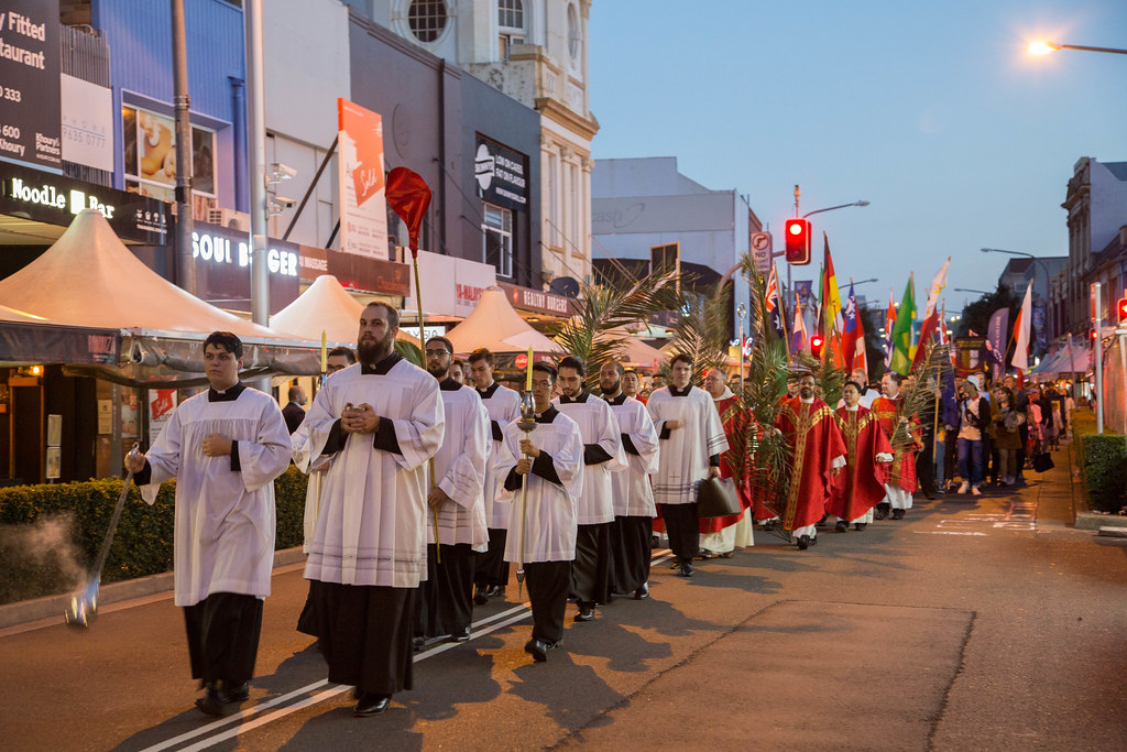 2019 Palm Sunday Procession and Mass (14.04.19)