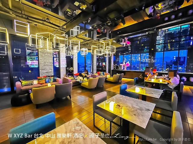 W XYZ Bar 台北 中山 雅樂軒 酒吧 2