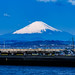 Mt. Fuji view from Enoshima Benten Bridge : 江の島弁天橋より富士山展望
