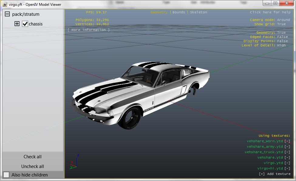 OpenIV Model Viewer