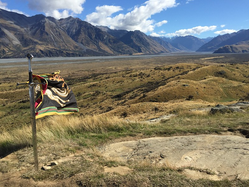 on Mt Sunday and Edoras