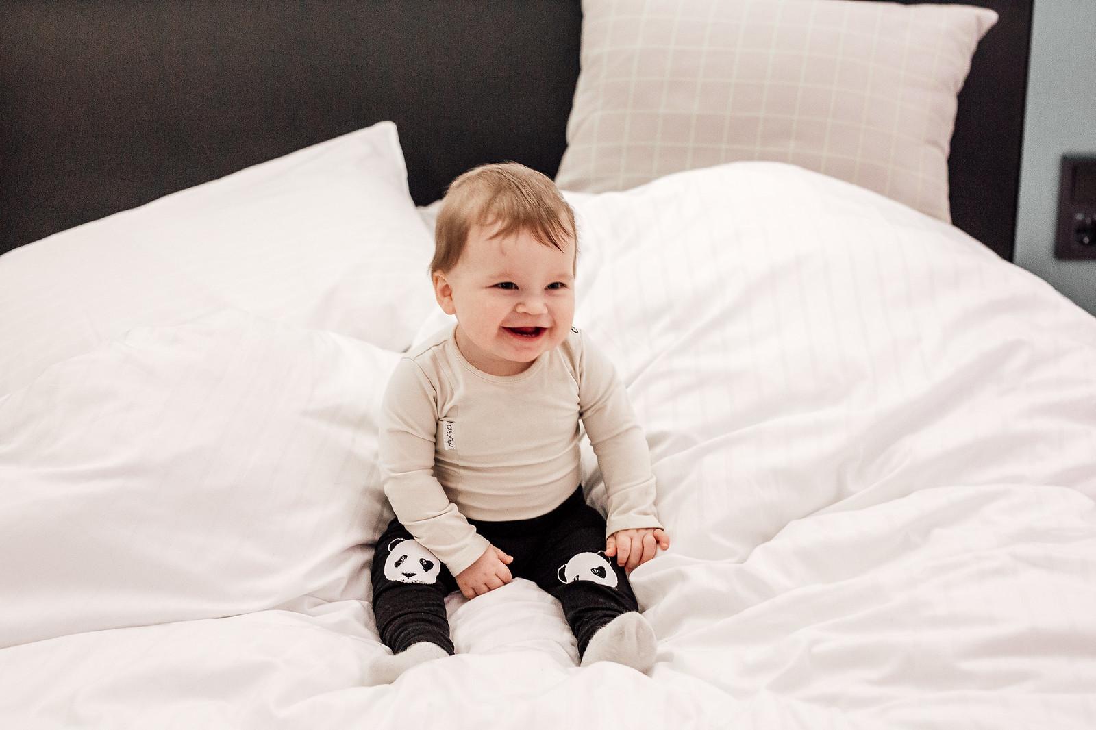 vauva hotellissa