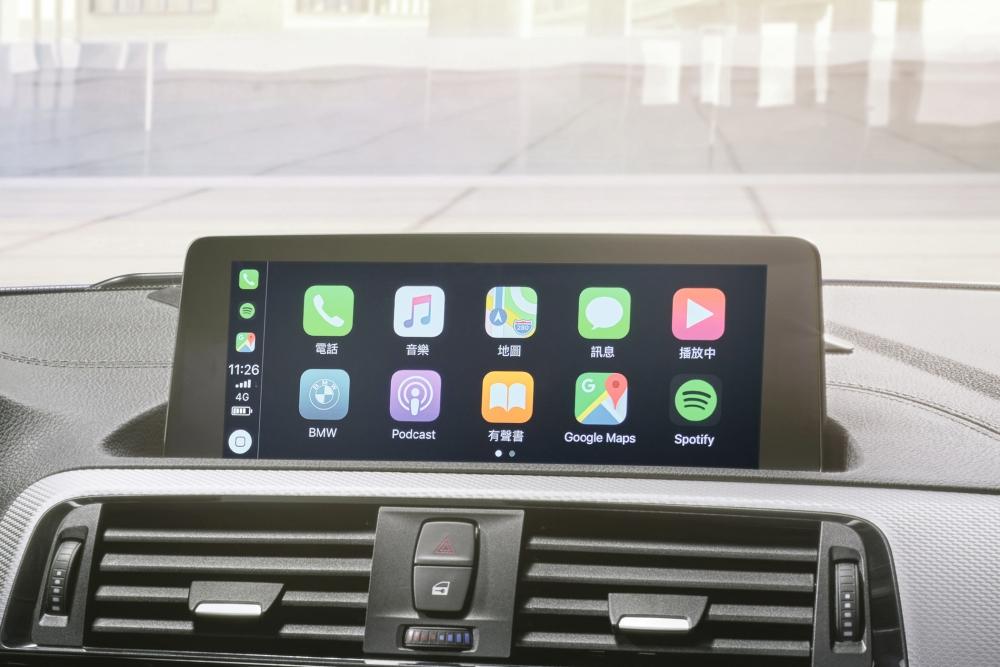 [新聞照片二] 搭載BMW獨家首創無線Apple CarPlay車載系統