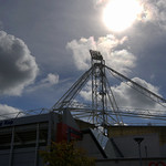 Floodlight from Preston North End Football Stadium