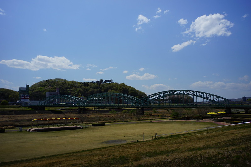 Sony α7Ⅱ+Voigtlander COLOR SKOPAR 21mm F4足利市渡良瀬川土手から見る中橋