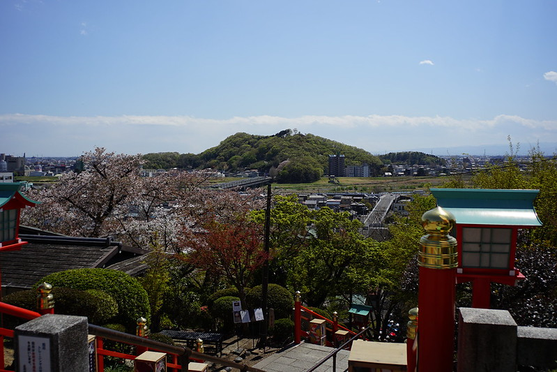 Sony α7Ⅱ+Voigtlander COLOR SKOPAR 21mm F4足利市織姫神社から見る足利市街