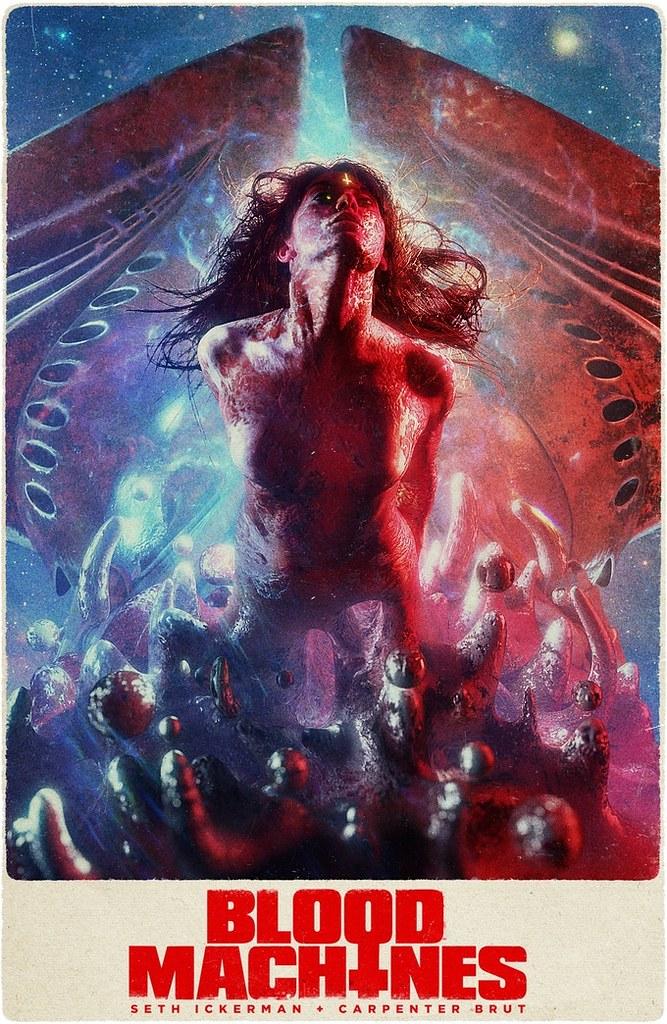 Blutmaschinen - Poster
