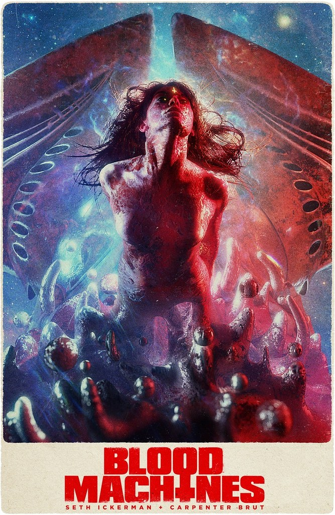 Blood Machines - Poster