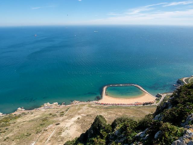 Mediterranean Swimming Pool, Gibraltar,