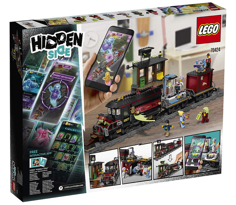 LEGO Hidden Side - 70424 - Train 03