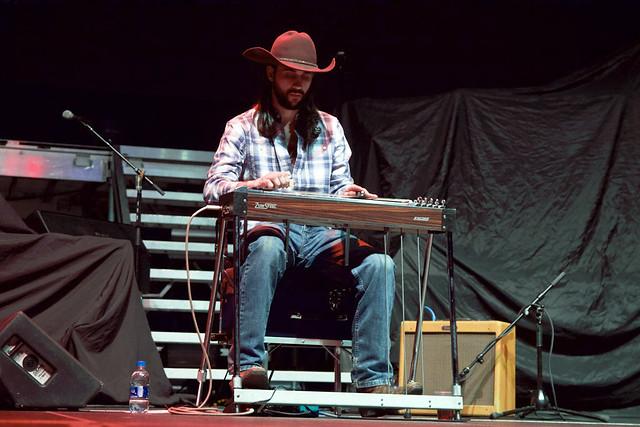 Faren Rachels steel guitar