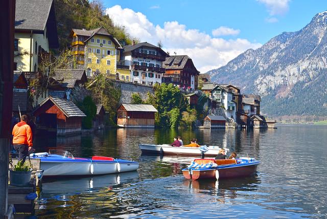 Hallstatt UNESCO World Heritage Austria 哈斯達特 奥地利 欧洲 (c) 2019 Берни Эггерян :: rumoto images 0991