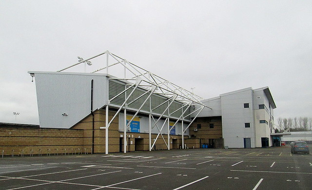 New Meadow Stadium, Shrewsbury, Main Stand