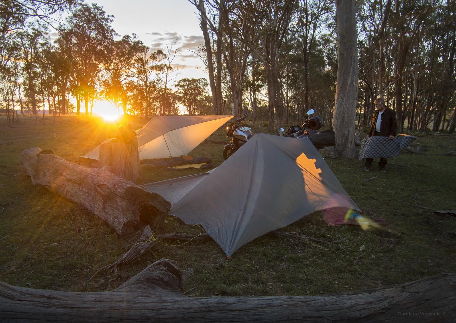 ideal campsite