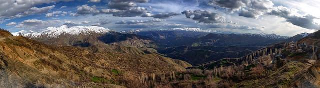 Hizan Dağlarından Panoramik Bir Görüntü