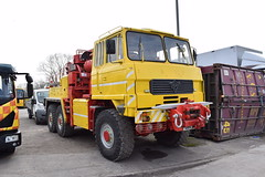 5asideHero posted a photo:Walls Truck Services Ltd Foden recovery truck, reg. no. D166 PAX, seen here at their depot in Newport, south Wales.The picture was taken on 7 April 2019.