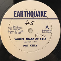 PAT KELLY:WHITER SHADE OF PALE(LABEL SIDE-A)