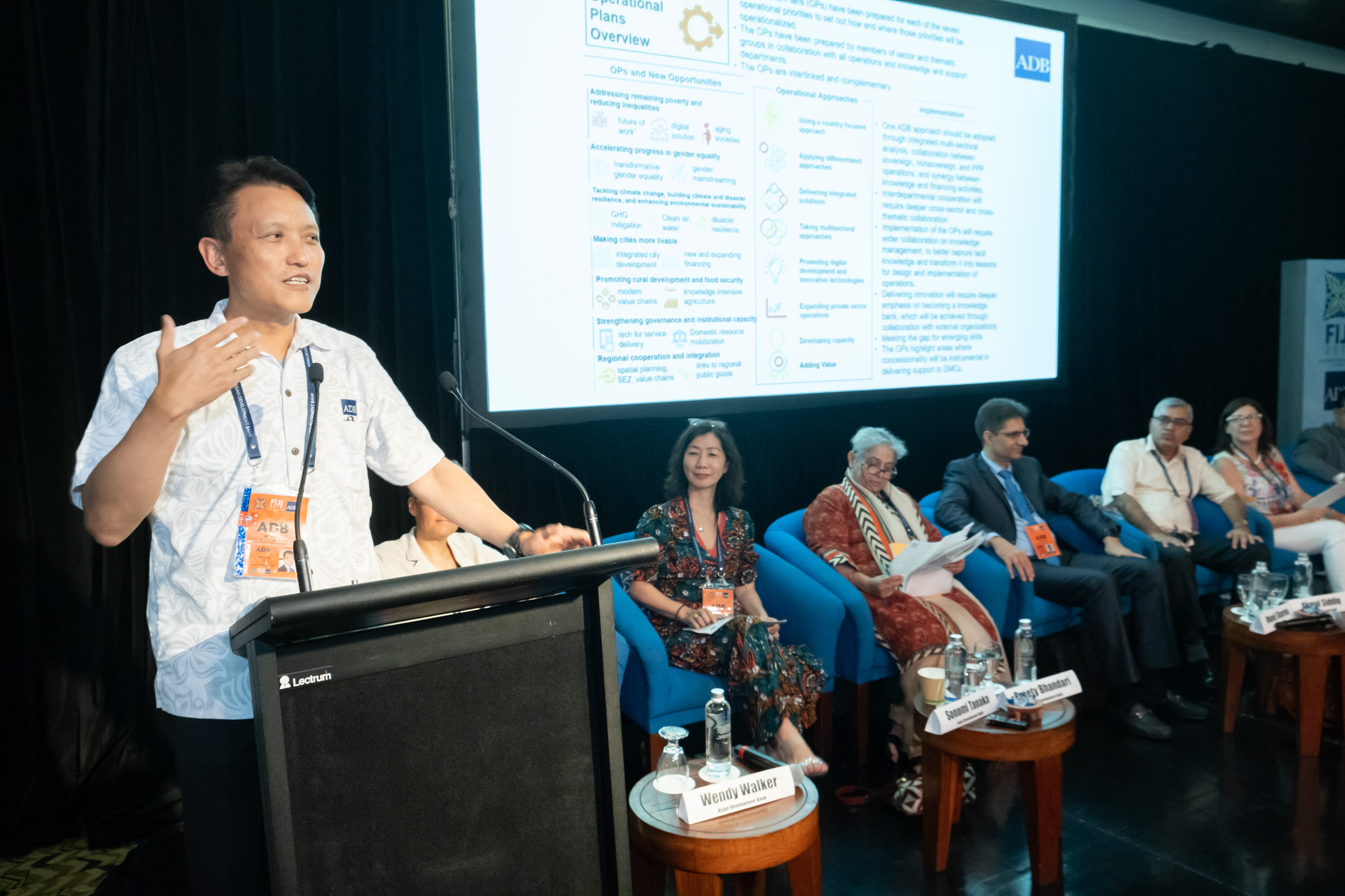 Discussions on ADB Strategy 2030's Operational Priorities