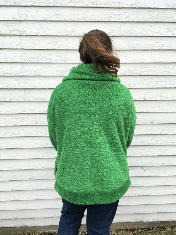 Hey June Handmade Brunswick Pullover in Polartec Curly Fleece