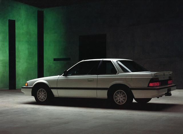 1986 Honda Prelude Si, 1985 press photo