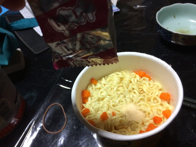 spicy cheese Noodles from Thai