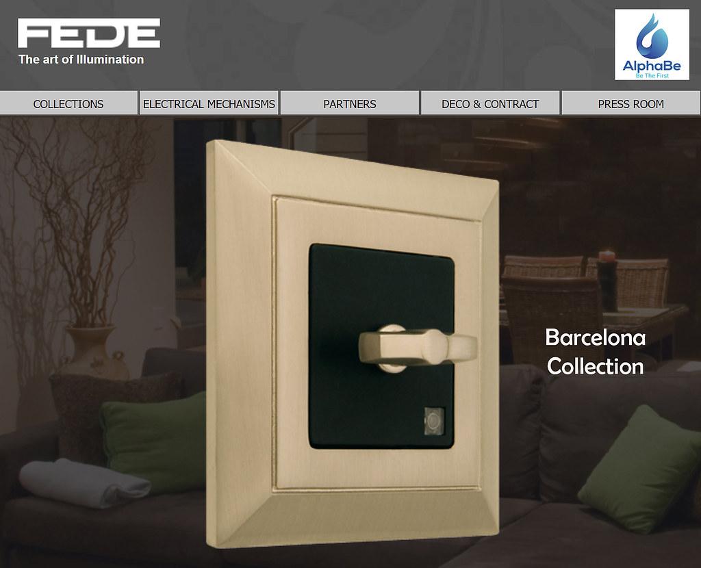 FEDE - Thiết Bị Điện Siêu Cấp Đến Từ Barcelona - Tây Ban Nha