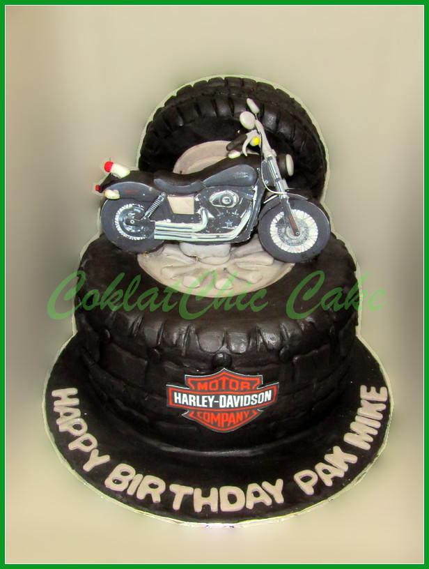 Cake Harley Davidson PAK MIKE 18 cm