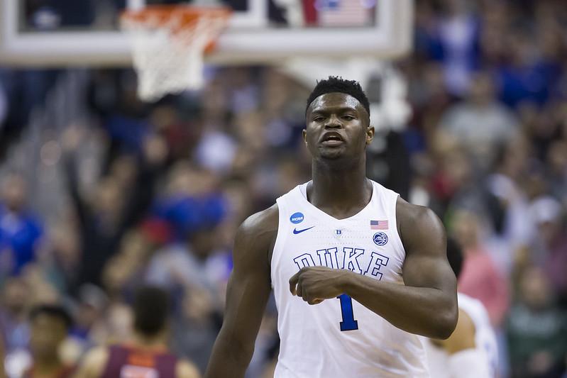 Zion Williamson極有可能會從紐奧良開始NBA生涯。(達志影像資料照)