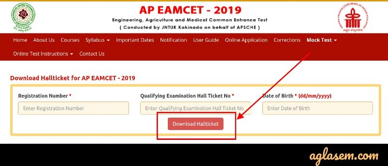 AP EAMCET 2019 Admit Card Released for Engineering and Agriculture; Direct Link to Download Here