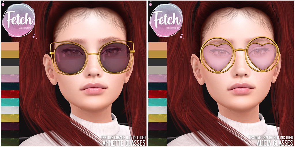 [Fetch] Alicia & Annette Glasses @ Fifty Linden Friday!