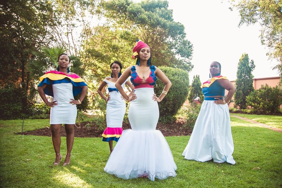 Elegant Tswana Wedding Woman Dresses 2019
