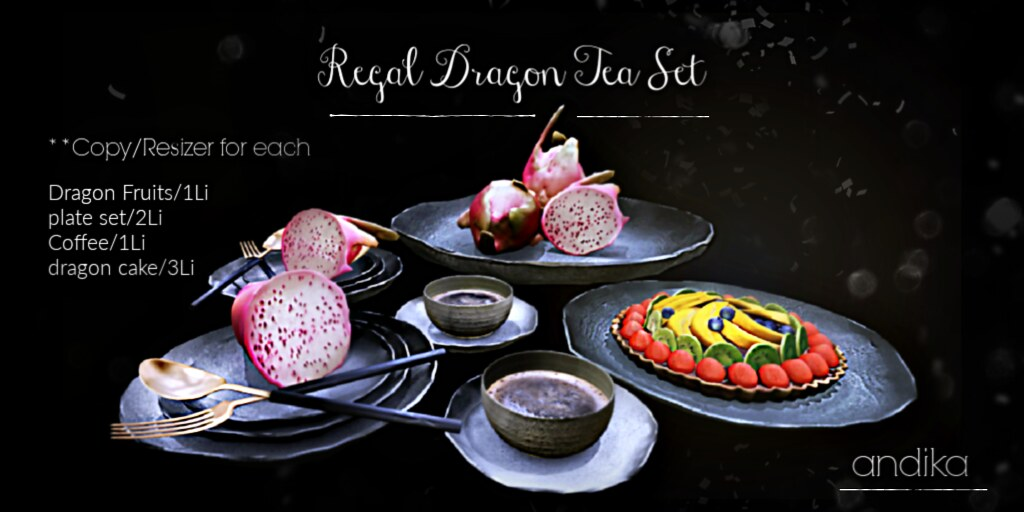 andika[ Regal Dragon Tea Set]-AD