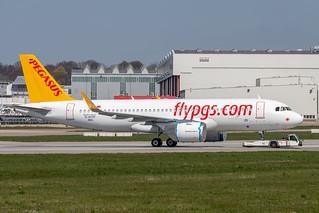 A320-251N Pegasus D-AVVF - TC-NCB MSN8884 | by hendriksehoof55