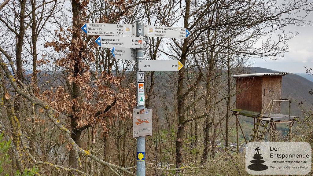 Traumpfad Hatzenporter Laysteig - Abstieg nach Hatzenport
