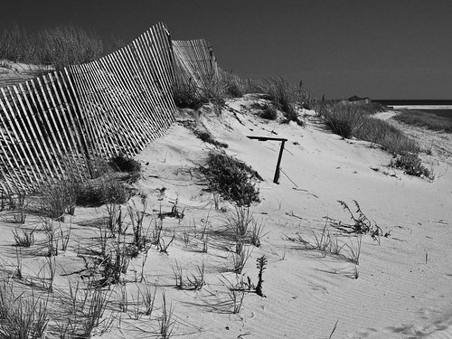 jonesbeach lumixdcfz80 newyork travel tourist sand beach ny digital fencing fence atlanticocean