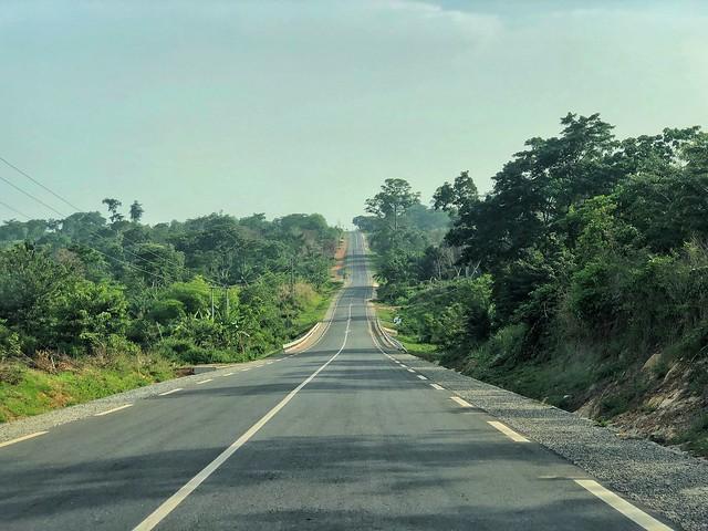 Carretera en Togo
