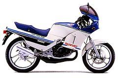 Suzuki RG 125 Gamma 1985 - 1