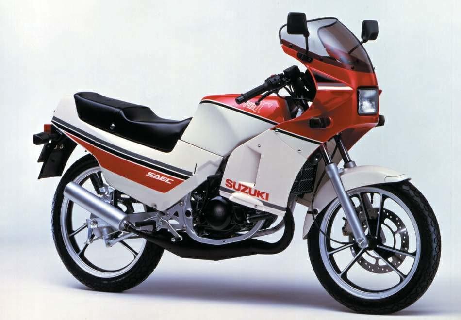 Suzuki RG 125 Gamma 1985 - 2