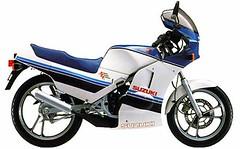 Suzuki RG 125 Gamma 1985 - 3