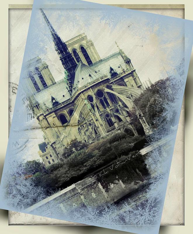 NOTRE DAME PARIS - in memoriam