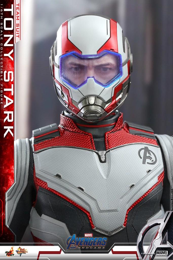 Hot Toys - MMS537 -《復仇者聯盟:終局之戰》東尼·史塔克 (量子戰衣) Tony Stark (Team Suit) 1/6 比例人偶作品