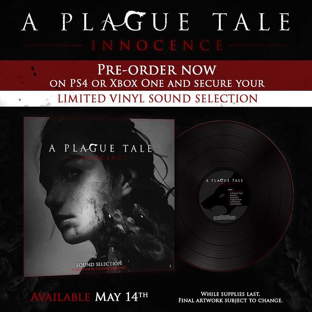 A plague Tale Vinyl