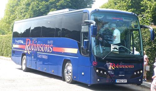 PO62 GHY 'Robinsons', Great Harwood. Volvo B9R / Plaxton Panther on Dennis Basford's railsroadsrunways.blogspot.co.uk'