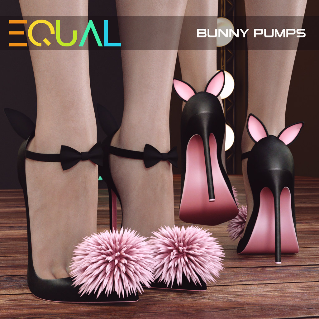 EQUAL - Bunny Pumps [Group Gift] - TeleportHub.com Live!
