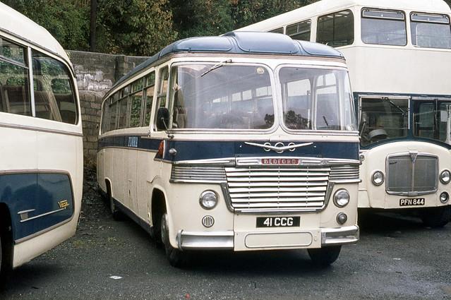 Flora Motors ( W Richardson ) . Helston , Cornwall . 41CCG . Helston Garage . August-1976 .