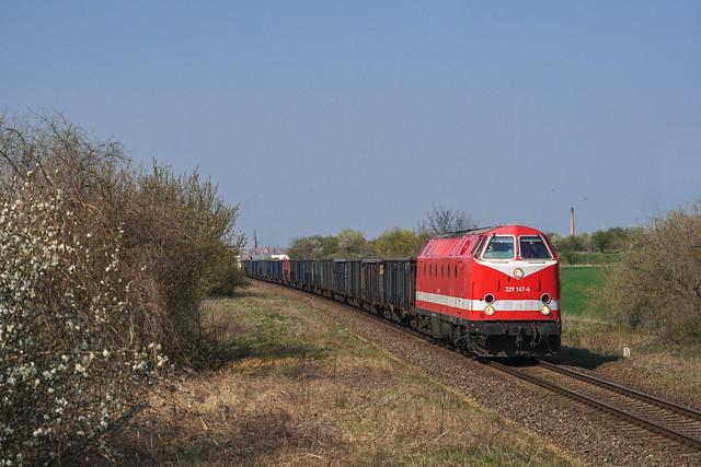 229 147 Cargo Logistik Rail Service | Neuendorf | April 2019
